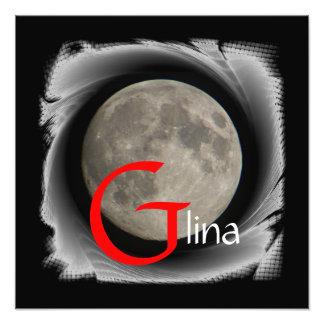 Moon, Lune, Luna, Glina, Moon poster Art Photo