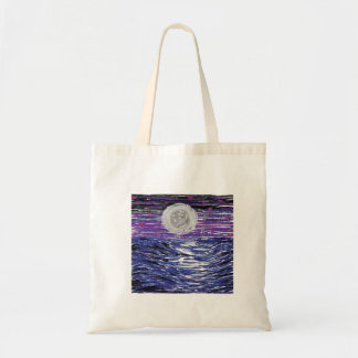 moon on water tote bag