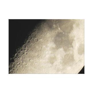Moon Silence Canvas Prints
