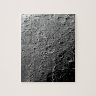 Moon surface jigsaw puzzle