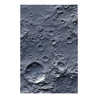 Moon Surface Stationery Paper