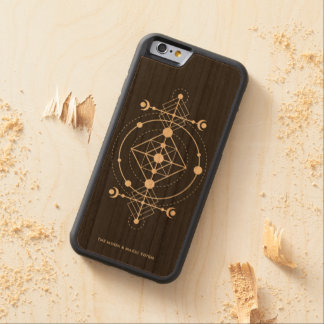 moon totem carved cherry iPhone 6 bumper case