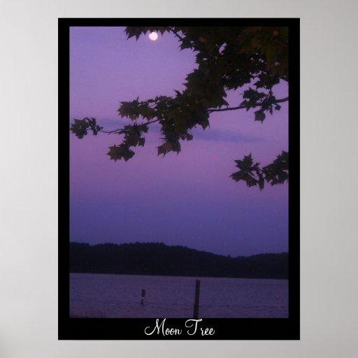 Moon Tree Print