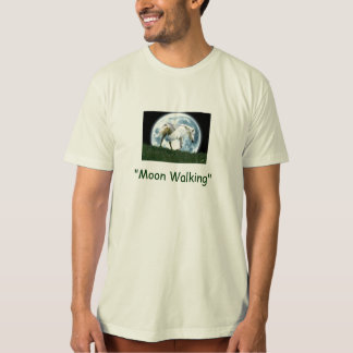 """MOON WALKING"" Pegasus apparel T-Shirt"
