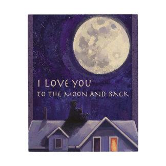 Moon Watch Wood Prints