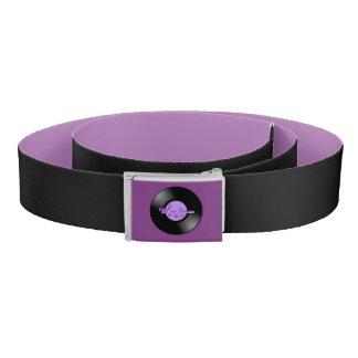 MoonDreams Music Record Purple & Black Belt