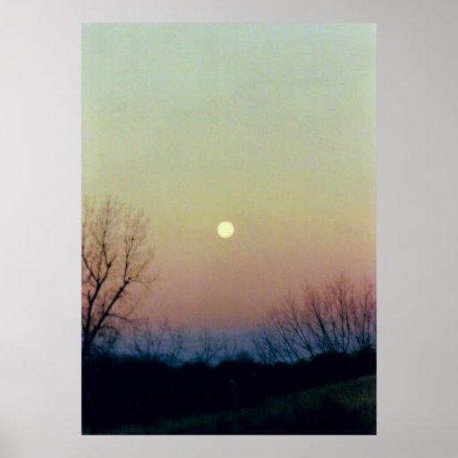 Mooned Print