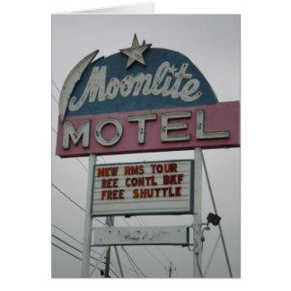 Moonlite Motel, Niagara Falls Card
