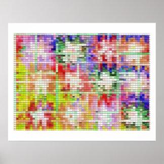 Moonshine Brick Tiles - Artistic Transformation 1 Posters
