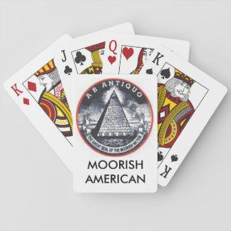 Moorish American Playing Cards Great Seal