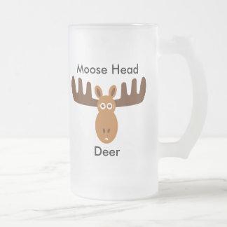 Moose Head_Moose Head Deer Coffee Mug