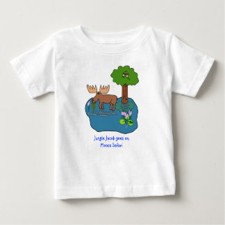 Moose Safari Baby T-Shirt