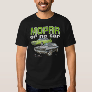 MOPAR or No Car - 68 Charger R/T and 70 Superbird Tshirts