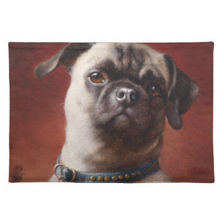 Mops American MoJo Placemat