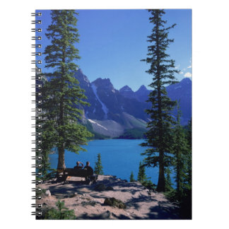 Moraine Lake, Banff, Alberta, Canada Spiral Note Book