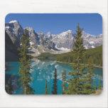 Moraine Lake, Canadian Rockies, Alberta, Canada 2 Mousepads