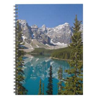 Moraine Lake, Canadian Rockies, Alberta, Canada 2 Notebooks
