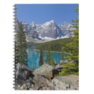 Moraine Lake, Canadian Rockies, Alberta, Canada Notebooks