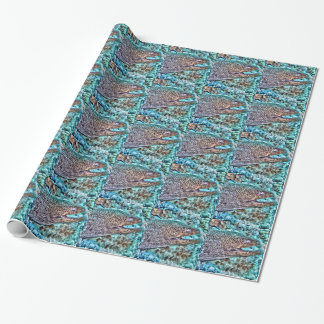 Moray Eel Wrapping Paper