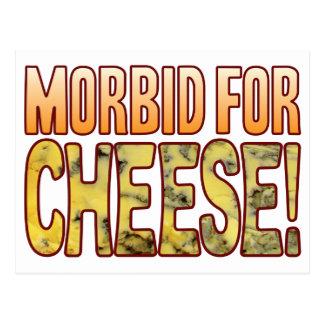 Morbid For Blue Cheese Postcard