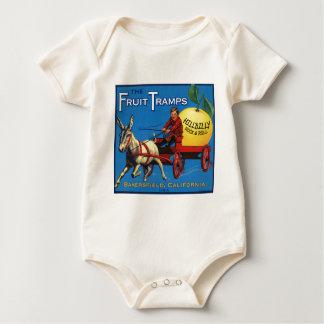 More Fruit Tramp Fun Baby Bodysuit