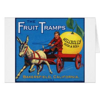 More Fruit Tramp Fun Card