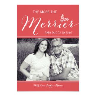 More Merrier | Pregnancy Announcement | Christmas
