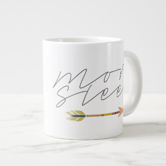More Sleep | Bohemian Tribal Arrow | Unique Large Coffee Mug