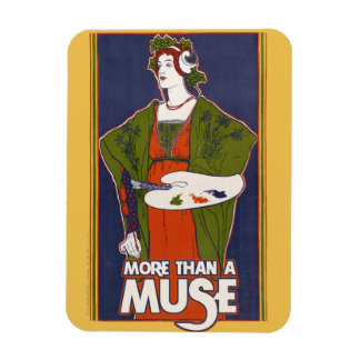 More than a Muse Rectangular Photo Magnet