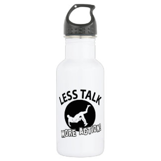 More Wrestling action less talk 532 Ml Water Bottle