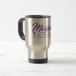 Moriah The Brave travel mug