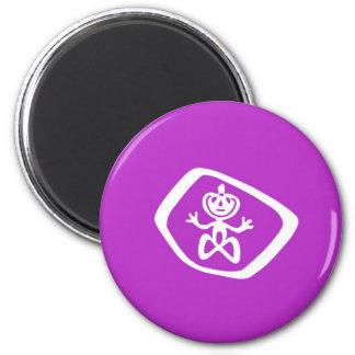 Moriori ethnic flag new zealand 6 cm round magnet