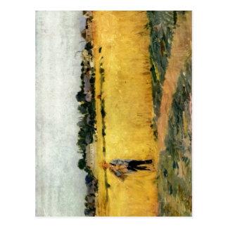 Morisot, Berthe Kornfeld um 1875 c. 1875 Technique Postcard