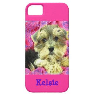 Morkie puppy iphone 5 case