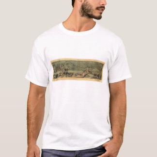Mormon Pioneers Map Nauvoo to Great Salt Lake 1846 T-Shirt
