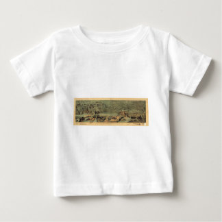 Mormon Pioneers Map Nauvoo to Great Salt Lake 1846 T Shirts