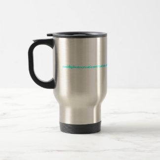 morning coffee stainless steel travel mug