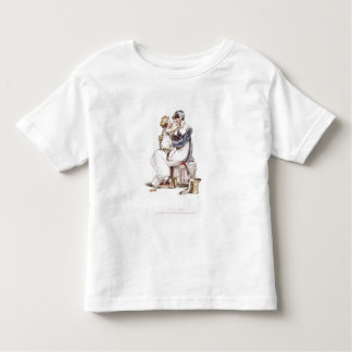 Morning dress, fashion plate from Ackermann's Repo Toddler T-Shirt