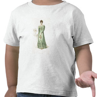 Morning Dress, fashion plate from Ackermann's Repo T-shirts