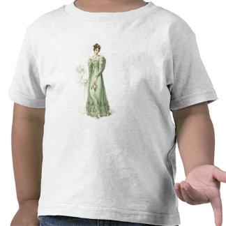 Morning Dress, fashion plate from Ackermann's Repo Tshirts