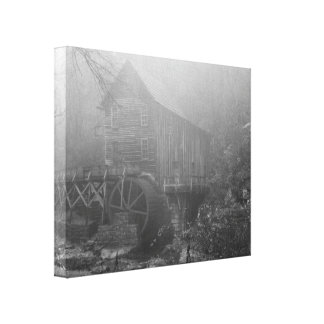 Morning Fog Gallery Wrapped Canvas