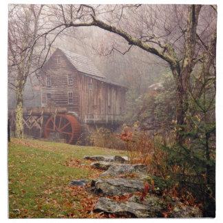 Morning Mist Cloth Napkins
