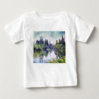 Morning on the Seine, near Vetheuil - Claude Monet Baby T-Shirt