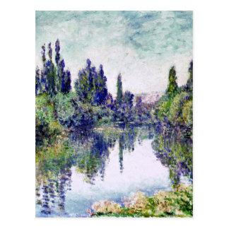 Morning on the Seine, near Vetheuil - Claude Monet Postcard