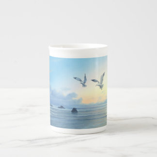 Morning Tides Beach Theme Kitchen Drink-ware Tea Cup