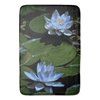 Morning Water Lilies Bath Mat Bath Mats