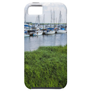Morningstar Sailboat Marina Georgia USA Grasslands iPhone 5 Cases