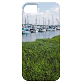 Morningstar Sailboat Marina Georgia USA Grasslands iPhone 5 Cover