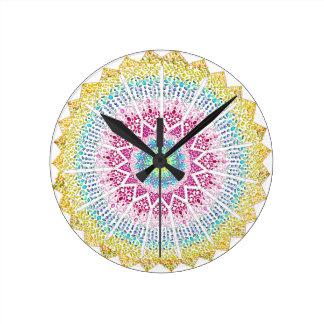 Moroccan Jewels Clock