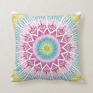 Moroccan Jewels Throw Pillow